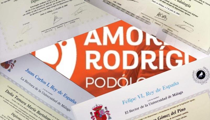 Diplomas Podología